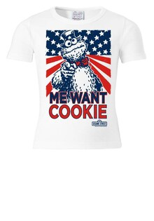 Футболка Cookie Monster - Me Want Cookie