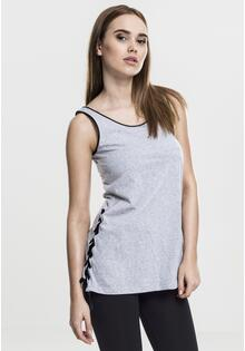 Топ Ladies Synthetic Leather Side Knotted Tank