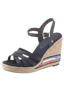 Босоножки TOMMY SEQUINS HIGH WEDGE SANDAL
